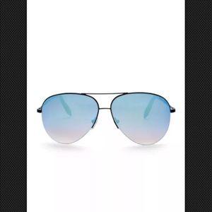 Victoria Beckham Blue Aviators
